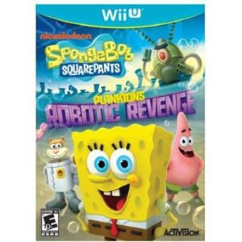SpongeBob SquarePants: Plankton's Robotic Revenge Wii U by Blizzard Entertainment (Planktons Robotic Revenge Wii compare prices)