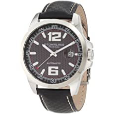 Stuhrling Original Men's 175.33151 Octane Concorso Automatic Date Black Watch