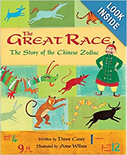 Books about Chinese New Year Clever Classroom: Great Race Paperback by Dawn Casey