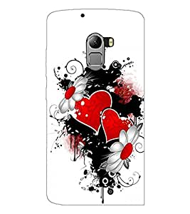 PrintDhaba Love D-1215 Back Case Cover for LENOVO K4 NOTE A7010a48 (Multi-Coloured)