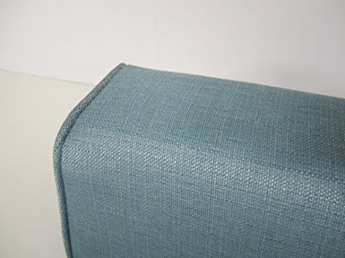 Great Deal! Wedge Bolster Cover (Linen-Turquoise)