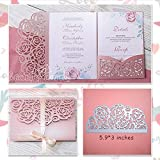Star Stencil Rose Wedding Invitation Cutting Die Scrapbooking Craft Metal Die Cut for DIY Paper Cards Making Love Home Decorative (Color: SH1472)
