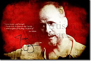 Joss Whedon Art Print (With Signed Autograph Reproduction) Glossy Photo Poster Gift 30x20cm