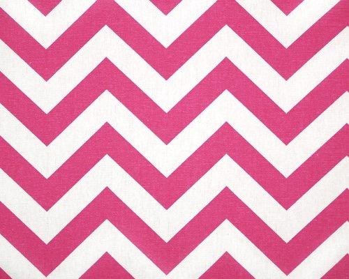Hot Pink Chevron Bedding 7721 front