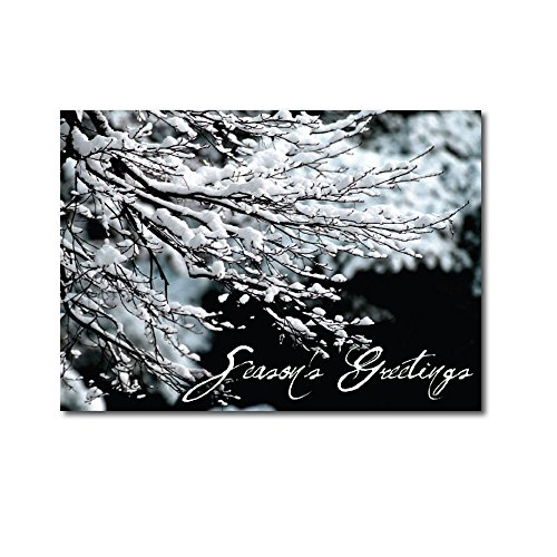 christmas-holiday-greeting-card-h8003-a-box-set-of-25-seasons-greetings-cards-featuring-a-winter-tre