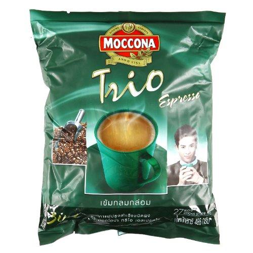 Moccona Trio 3 in 1 Espresso Coffee (27 Sachets X 18 G.)