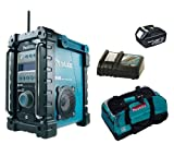 MAKITA 18V LXT BMR101 BMR101Z BMR101RFE JOB SITE RADIO WITH DAB, BL1830 BATTERY, DC18RC CHARGER AND LXT400 BAG - PF TRADE