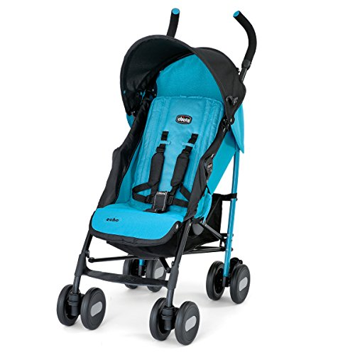 Chicco Echo Stroller, Turquoise - 1