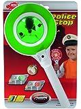 Dickie-Spielzeug 203393045 - Police Stop, Polizeikelle mit Licht