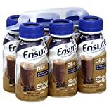 Ensure Plus Nutrition Shake, Rich Dark Chocolate, 6 - 8 fl oz (237 ml) bottles