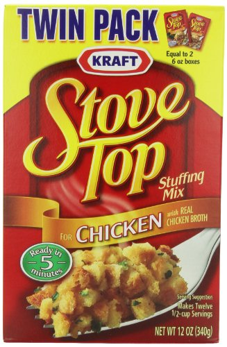 Stove Top Stuffing Mix, Chicken, Twin Pack (Pack of 9)