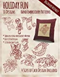 img - for Holiday Fun Hand Embroidery Patterns book / textbook / text book