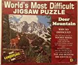 World's Most Difficult Jigsaw Puzzle - Deer Mountain