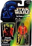 """1996 Hasbro Star Wars """"PONDA BABA"""" Green Card Holo Foil"""