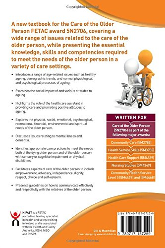 Care of the Older Person: Level 5: FETAC