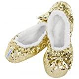 Soft Ballerina Shoes with Sequins Pink S