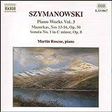 シマノフスキ: ピアノ曲集 - 第3集