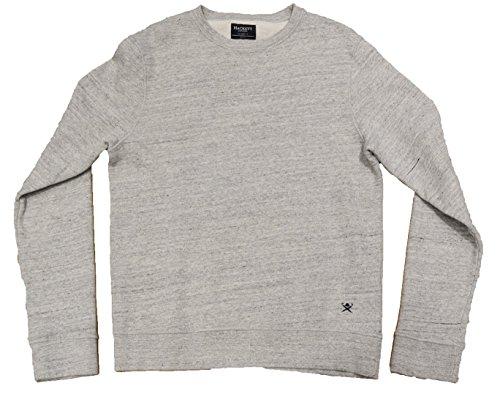 Hackett London -  Felpa  - Uomo Grey Marl X-Large