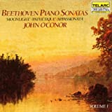 Beethoven Piano Sonatas Vol. 1: Moonlight, No. 14, Op 27 / Pathetique, No. 8, Op. 13 / Appassionata, No. 23, Op. 57