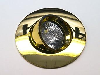3er set 12v halogen einbaustrahler perfecto gu5 3 farbe us152. Black Bedroom Furniture Sets. Home Design Ideas
