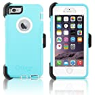 OtterBox Defender Series Case & Holster for Apple iPhone 6 4.7 (Ocean Mist) - Light Teal / White