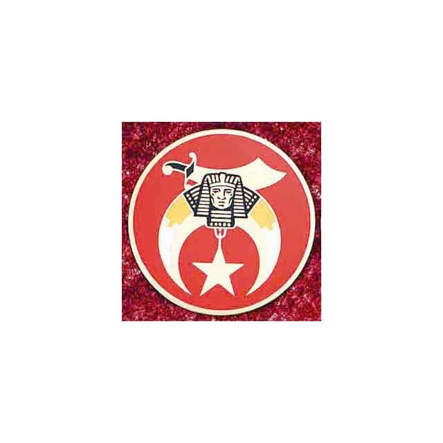 SHRINE Shriner 3 LARGE ALL Metal Masonic Motorcycle / Auto Car Emblem Sticker Badge Mason, Freemason Freemasons Free Mason Masons Masonic Masonry Freemasonry Past Masters Emblem Shriner,york Scottish Rite, ,Grotto,movper, Craft Lodge Entered Apprentice F