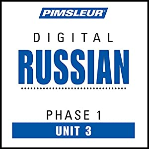 Russian Phase 1, Unit 03 Audiobook
