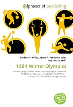 1984 Winter Olympics medal table