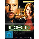 CSI: Crime Scene Investigation - Season 7.2 (3 DVD Digipack)von &#34;William L. Petersen&#34;
