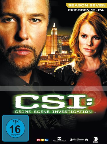 CSI: Crime Scene Investigation - Season 7.2 (3 DVD Digipack)