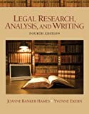 Legal Research, Analysis, and Writing Plus NEW MyLegalStudiesLab Virtual Law Office Experience with Pearson eText -- Access Card Package (4th Edition)
