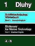 img - for Schiffstechnisches W rterbuch 1. Deutsch - Englisch. Teil 1: A - N / Teil 2: O - Z (Book on Demand) book / textbook / text book