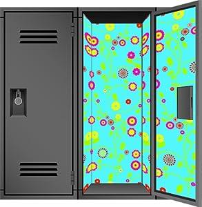 locker designz deluxe magnetic locker wallpaper gypsy