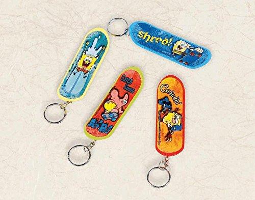 skteboard keychain sponge bob