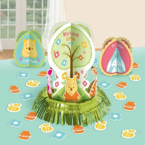 Winnie the pooh little hunny baby shower table