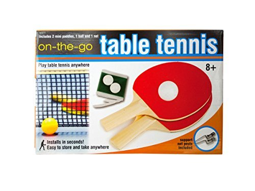 Portable Table Tennis Set Kids Children by bulk buys