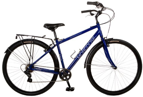 Discover Bargain Mongoose Xcom 700c Bike (Blue)