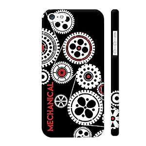 Colorpur Mechanical Engineering In Black Artwork On Apple iPhone SE Cover (Designer Mobile Back Case) | Artist: Abhinav