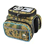 Kmise SP0003 Portable Bicycle Stereo Saddle Bags with Good Sound, Camouflage by Kmise
