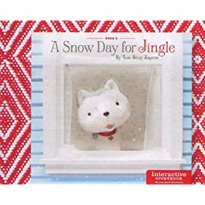 Hallmark Christmas XKT4000 A Snow Day For Jingle Interactive Book