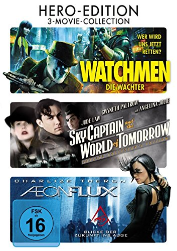 Watchmen - Die Wächter / Sky Captain And The World Of Tomorrow / Aeon Flux - 3DVD