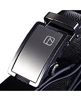 Teemzone Elder Jeansgürtel Vollrindleder Automatik Kurzbar Hosengürtel Gürtel für Herren mit Automatikschließe