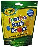 Crayola Jumbo Bath Dropz Scented, 3-color Bath Fizzie