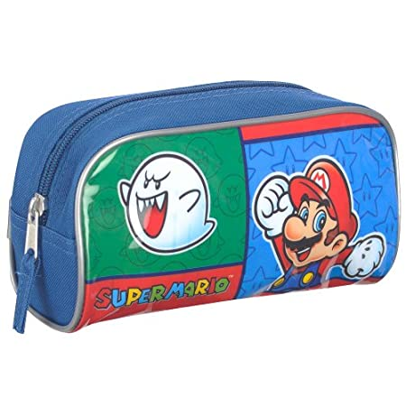 Nintendo Super Mario Gadget Case - Blue and Red