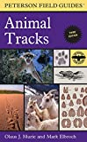 img - for Peterson Field Guide to Animal Tracks: Third Edition (Peterson Field Guides) book / textbook / text book