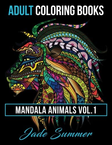 Adult Coloring Books Animal Mandala Designs And Stress Relieving Patterns For Anger Release