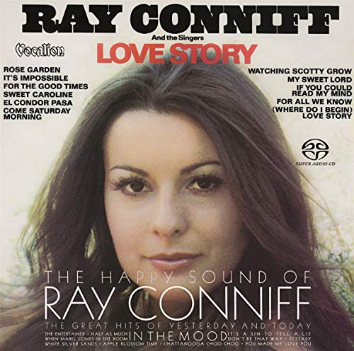 SACD : CONNIF, RAY - Happy Sound Of Ray Conniff & Love Story (Limited Edition, Hybrid SACD, Multichannel/Stereo SACD, Asia - Import)