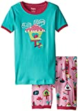 Hatley Little Girls' Shortbird House Pajama Set