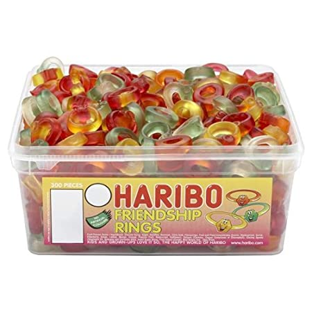 Not a diamond ring haribo