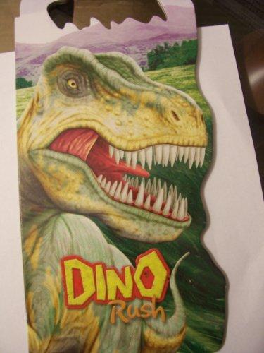 Dino Rush ~ Oversized Shaped Dinosaur Board Book - 1